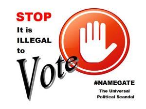 #NAMEGATE -STOP