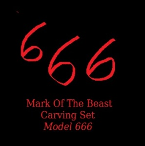 MarkOTBeast666carvingset